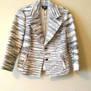 W by Worth tweed blazer